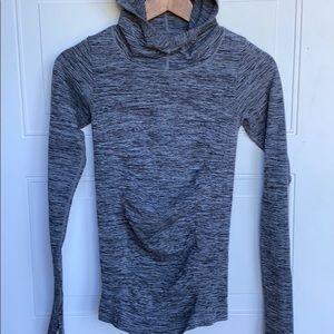 Athleta Hooded Long Sleeve XS